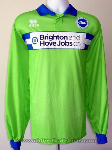 Brighton & Hove Albion Gardien de but Maillot de foot 2011 - 2013