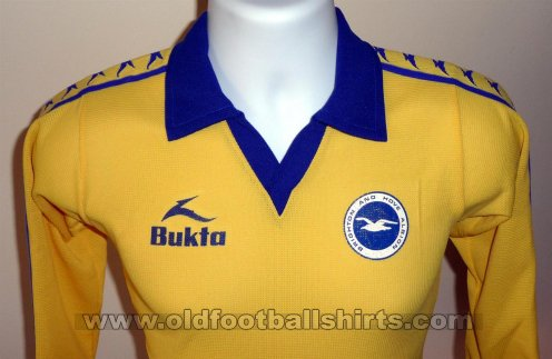 Brighton & Hove Albion Away football shirt 1978 - 1980