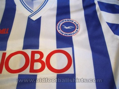Brighton & Hove Albion Home football shirt 1988 - 1989