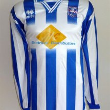Brighton & Hove Albion Special φανέλα ποδόσφαιρου 1999 - 2001 sponsored by TLC Electrical Distributors