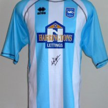 Brighton & Hove Albion Special φανέλα ποδόσφαιρου 2007 sponsored by Harrington Lettings