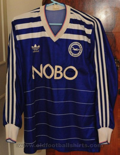 Brighton & Hove Albion Home football shirt 1986 - 1987