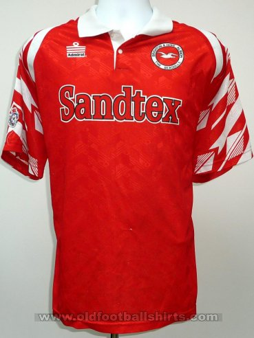 Brighton & Hove Albion Uit  voetbalshirt  1995 - 1997