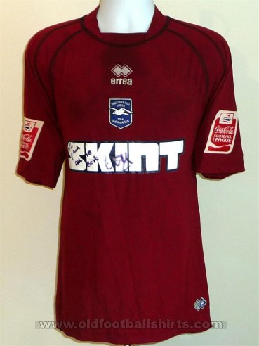 Brighton & Hove Albion Away football shirt 2005 - 2007