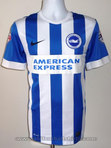 Brighton & Hove Albion Home football shirt 2014 - 2016