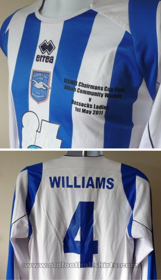 Brighton & Hove Albion Womens Teams football shirt 2011