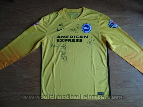 Brighton & Hove Albion Goalkeeper football shirt 2015 - 2016