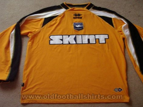 Brighton & Hove Albion Gardien de but Maillot de foot 2005 - 2006