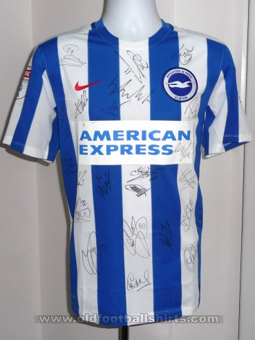 Brighton & Hove Albion Thuis  voetbalshirt  2016 - 2017
