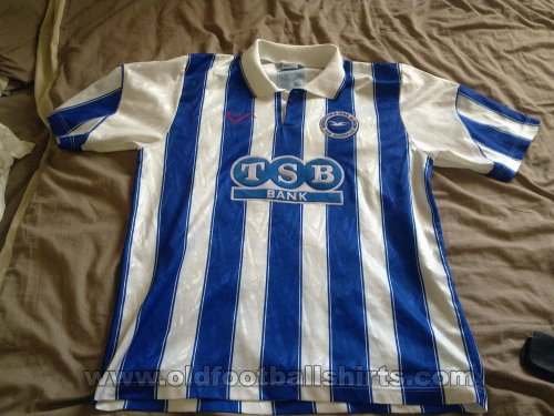 Brighton & Hove Albion Home football shirt 1991 - 1993