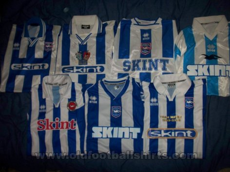 Brighton & Hove Albion Local Camiseta de Fútbol 1999 - 2008