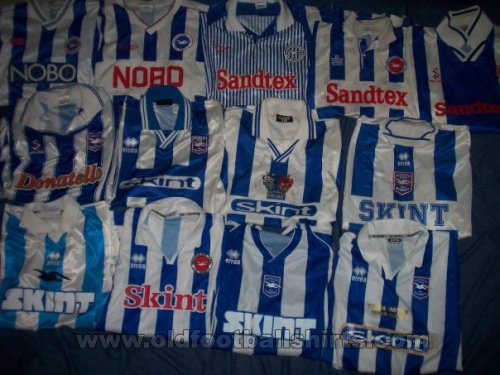 Brighton & Hove Albion Home football shirt 1988 - 2008