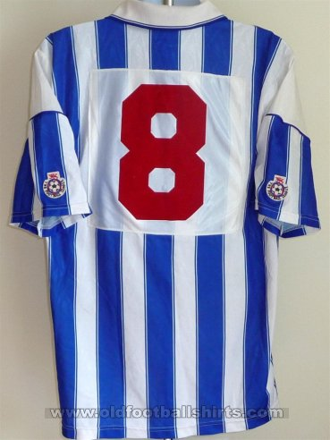 Brighton & Hove Albion Thuis  voetbalshirt  1991 - 1993
