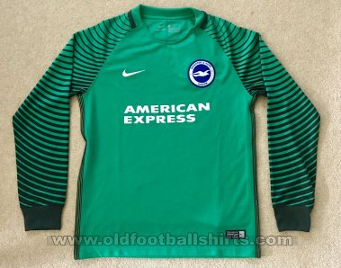 Brighton & Hove Albion Goalkeeper football shirt 2016 - 2017