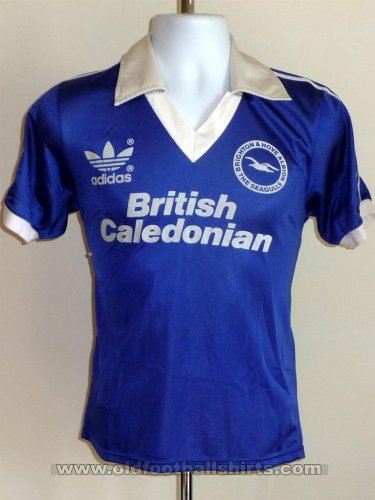 Brighton & Hove Albion Home חולצת כדורגל 1980 - 1983