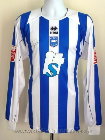 Brighton & Hove Albion Home football shirt 2008 - 2010