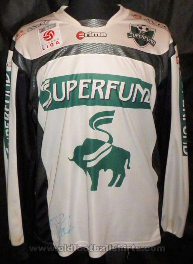 FC Superfund Home football shirt 2005 - 2006
