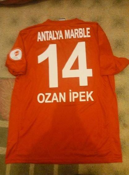 Versand Antalyaspor Kappa 2020//21 Blau Trikot Offiziell Lizenziert DHL Exp