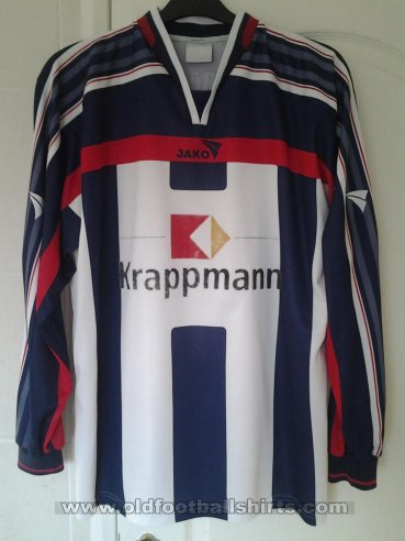 MSV 19 Rüdersdorf Home football shirt (unknown year)