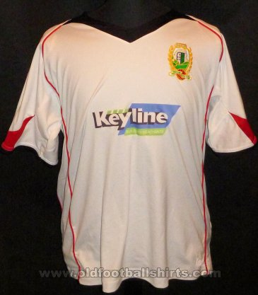 Threave Rovers Away voetbalshirt  2007 - 2008