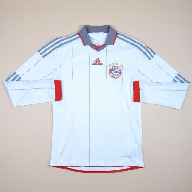 pretty nice 01071 8befa Bayern Munich Away maglia di calcio 2009 - 2010.
