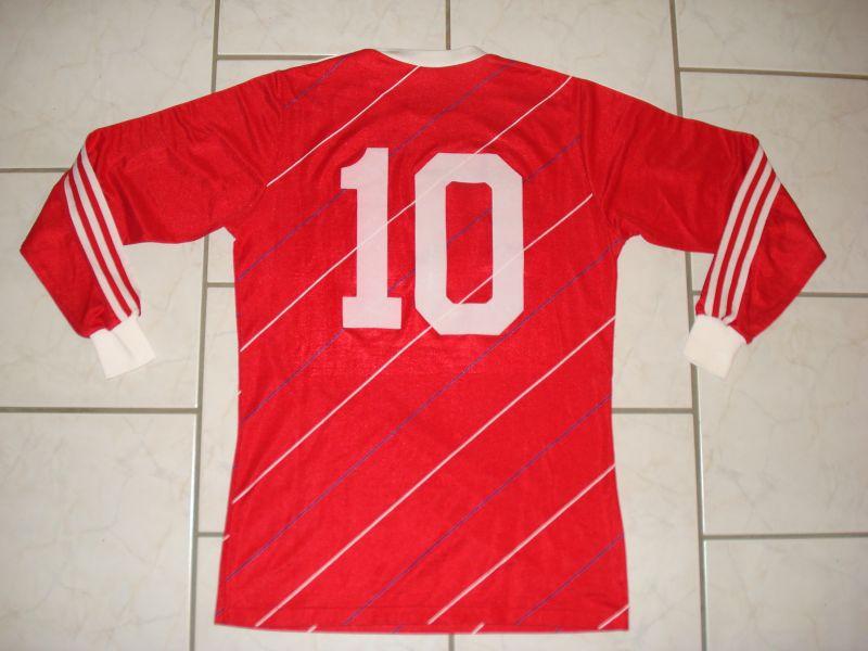 innovative design 6a346 ef015 Bayern Munich Cup Shirt Maillot de foot 1985 - 1986 ...