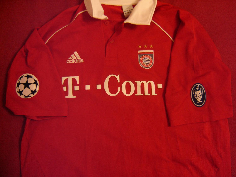 Bayern Munich Cup Shirt Maillot de foot 2005 2006