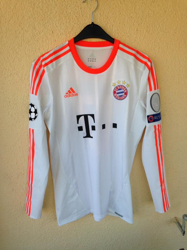 best sneakers f2760 3a935 Bayern Munich Cup Shirt camisa de futebol 2012 - 2013 ...