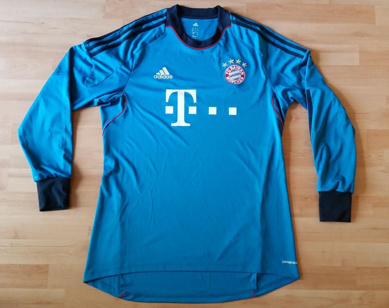 Osborne And München bayern munich goleiro camisa de futebol 2015 2016 adicionado em