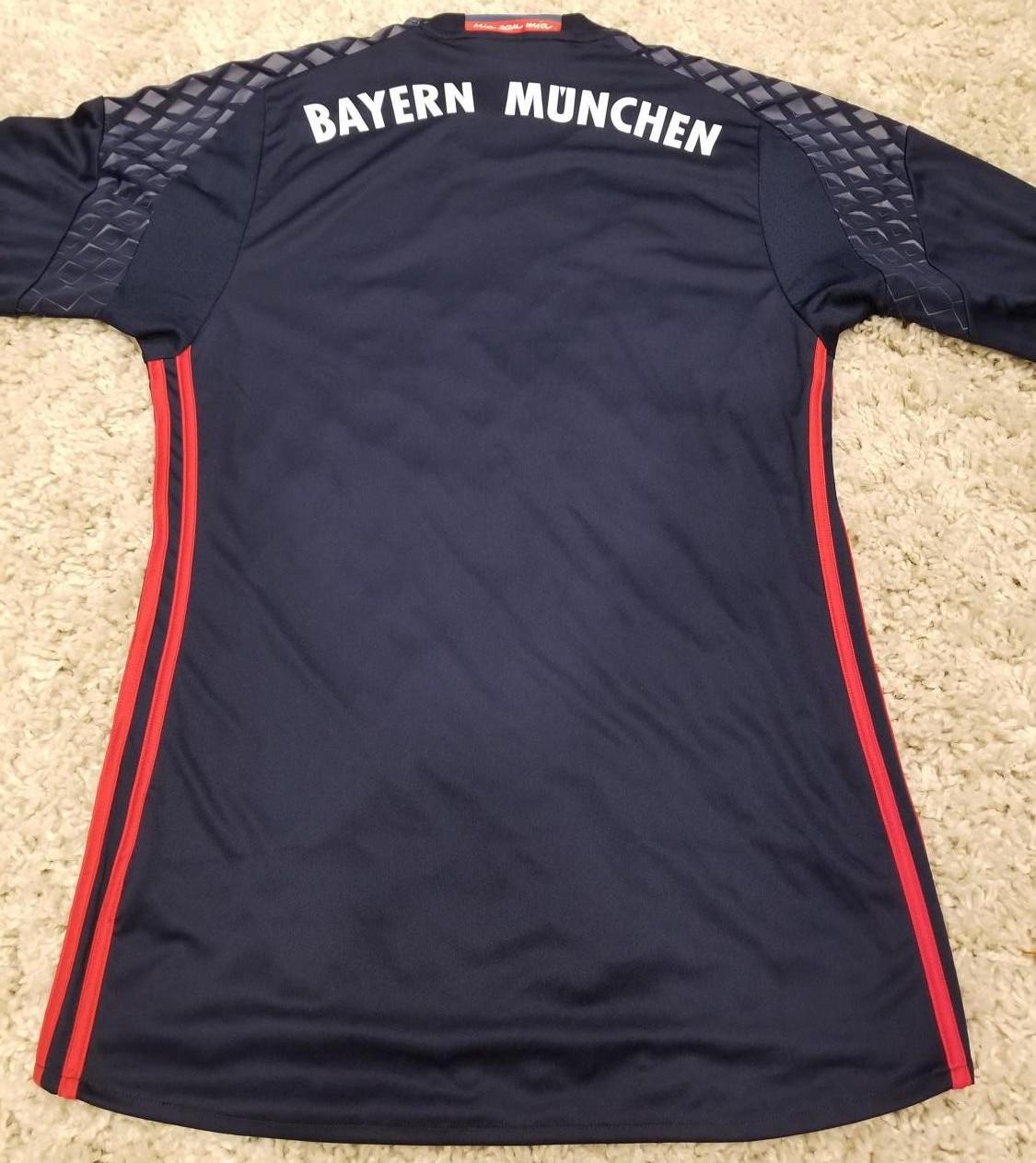 2014 15 bayern munchen 27 alaba home soccer long sleeve shirt kit ...