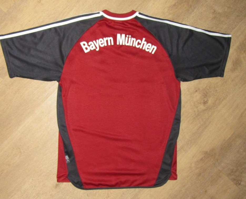 bayern munich home football shirt 2002 2003 sponsored by t mobile. Black Bedroom Furniture Sets. Home Design Ideas