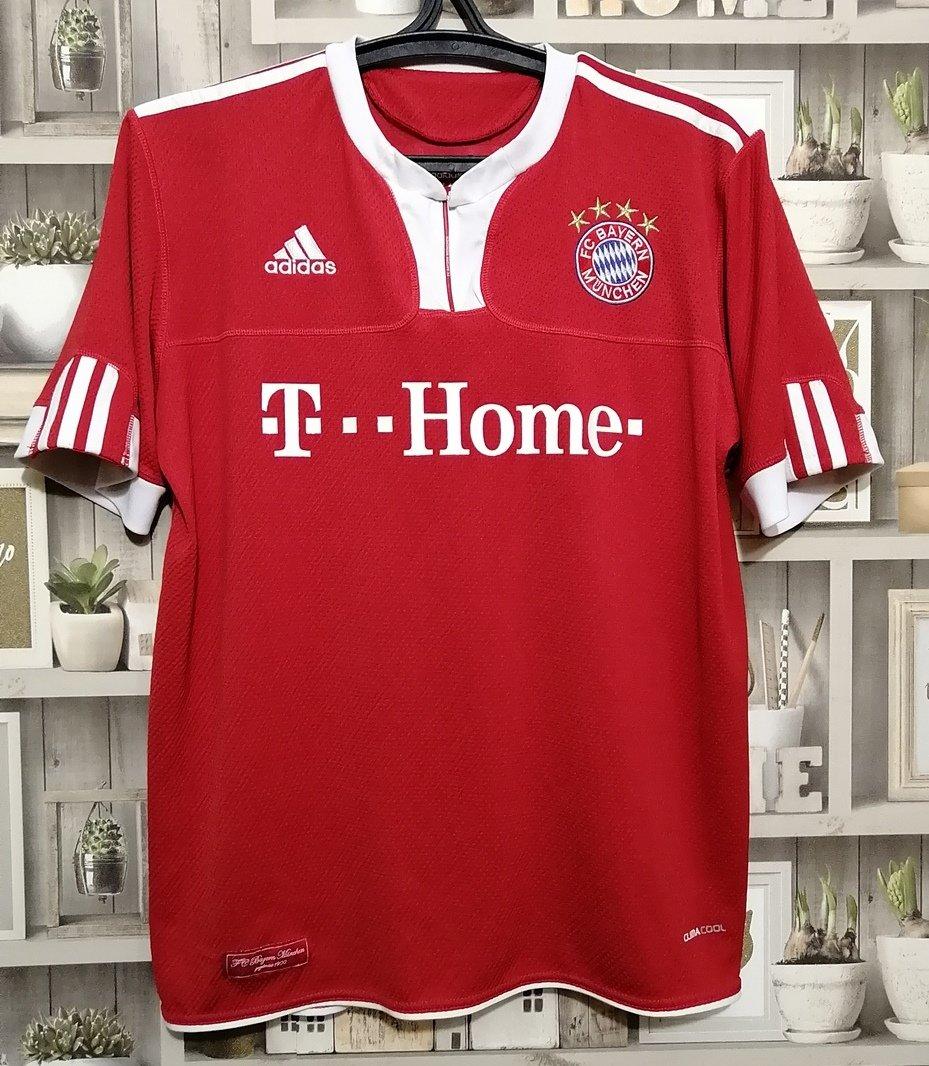 Bayern Munich Home maglia di calcio 2009 - 2010. Sponsored by ...