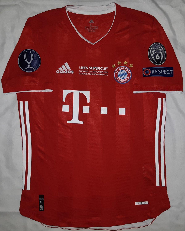 Campionato Nuovo Bayern Munich Home maglia di calcio 2020 - 2021 ...
