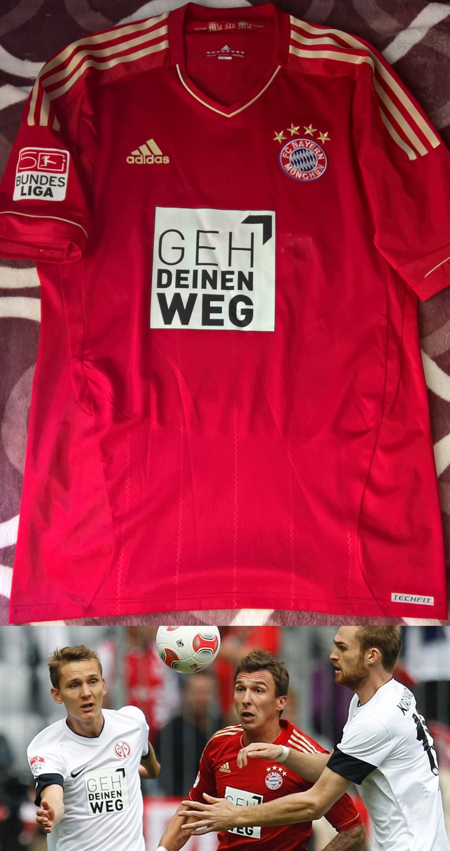 new concept 37b5b f32ef Bayern Munich Special football shirt 2012 - 2013. Sponsored ...