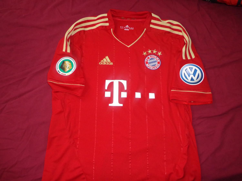 Bayern Munich Casa camisa de futebol 2011 - 2012