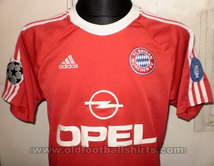Bayern Munich Cup Shirt football shirt 2001 - 2002