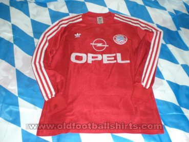 Bayern Munich Home football shirt 1989 - 1991