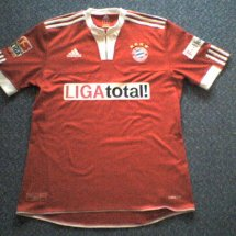 Bayern Munich Special football shirt 2009 - 2010 sponsored by Liga Total!