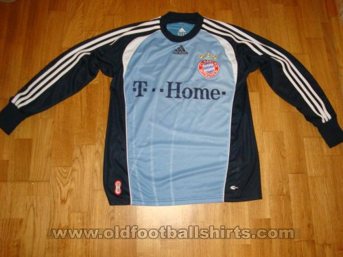 Bayern Munich Goalkeeper football shirt 2003 - 2007
