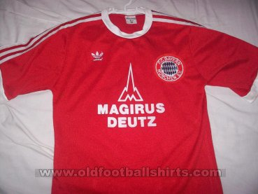 Bayern Munich Home football shirt 1980
