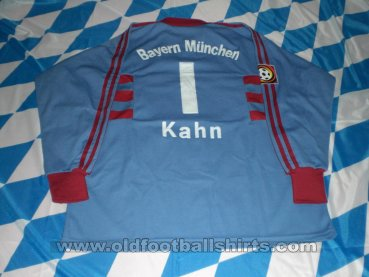 Bayern Munich Goalkeeper Maillot de foot 1998 - 1999