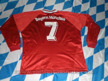Bayern Munich Home football shirt 1992 - 1993