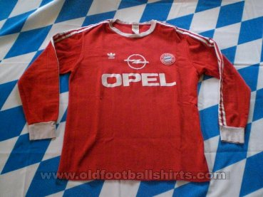 Bayern Munich Home football shirt 1990 - 1991