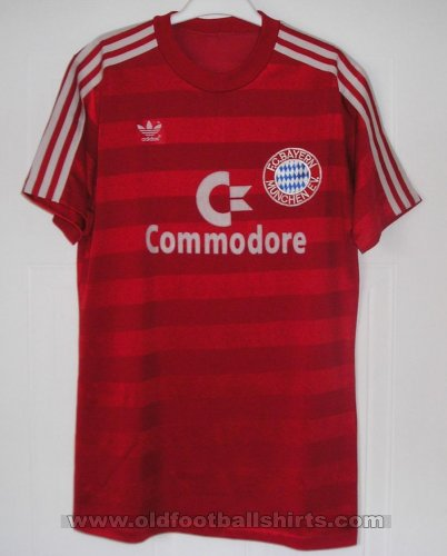 Bayern Munich Home football shirt 1984 - 1985