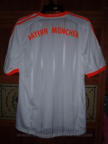Bayern Munich Away football shirt 2012 - 2013