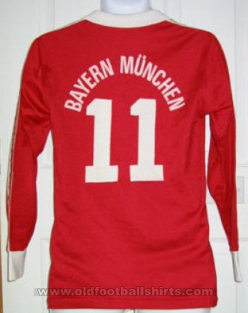 Bayern Munich Home football shirt 1981 - 1984
