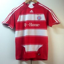 Bayern Munich Home football shirt 2007 - 2009 sponsored by Deutsche Telekom