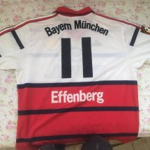 Bayern Munich Away football shirt 1998 - 2000 sponsored by Opel