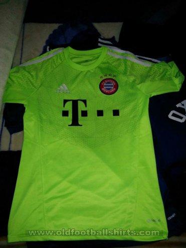 classic fit c9758 16282 Bayern Munich Goalkeeper football shirt 2014 - 2015 ...