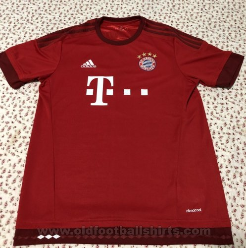 Bayern Munich Home футболка 2015 - 2016